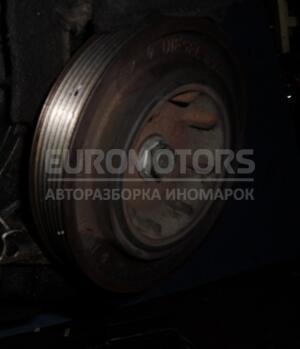 Шкив коленвала демпферный 6 ручейков Nissan Primastar 1.9dCi 2001-2014 13012