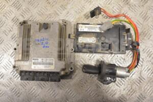 Блок управління двигуном комплект Renault Trafic 2.0dCi 2001-2014 0281014208 201485